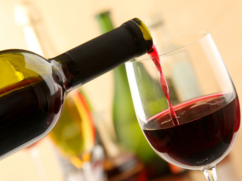 what are the health benefits of drinking wine