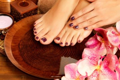 Why should you get a manicure and a pedicure during the winter?