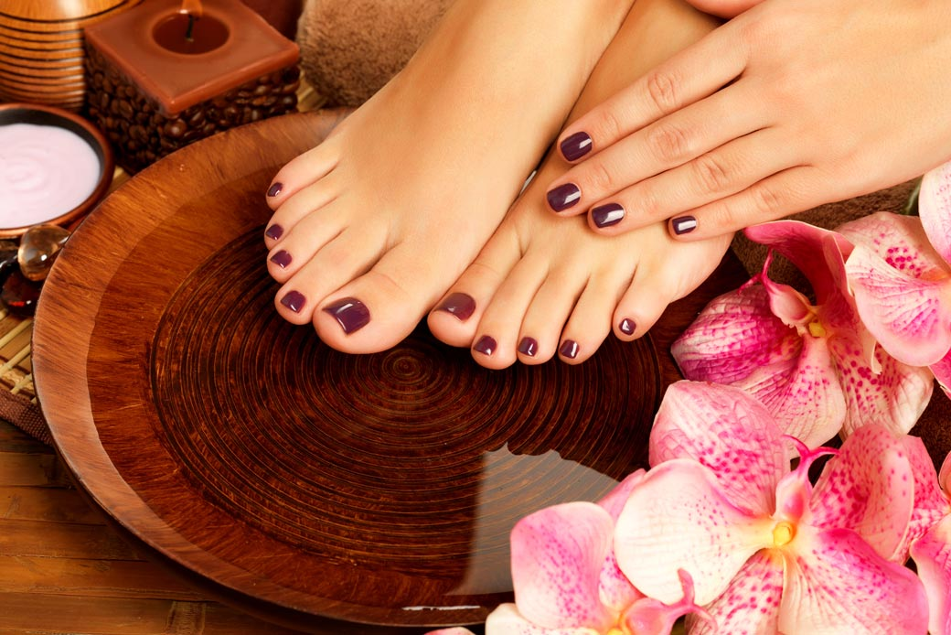 Why should you get a manicure and a pedicure during the winter